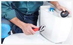 reparation fuite-wc